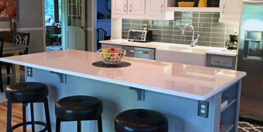 Kitchen Green Tile