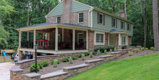 Bon Air Porch Remodel + Hardsccape
