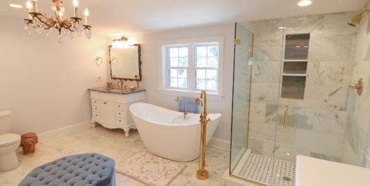 Windsor Farms Kitchen Remodel + Upstairs Bath Kickout